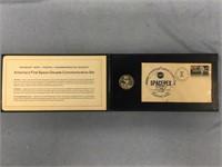 Danbury Mint America's First Space Commemorative s