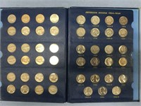 Jefferson nickel collection 1938-1945            (