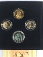 2005 US Mint Westward Journey nickel and coin seri