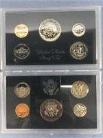 Lot of 2 US Mint proof sets, 1972 S, 1983 S