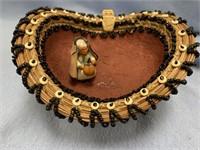 Spirit of the White Owl, handmade basket from Geor