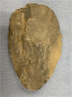 flint knife recovered from Tennessee, approx. 3 1/