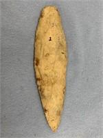 Beautiful flint spear head recovered from Arkansas
