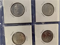 Large lot of various coins including: Spain,