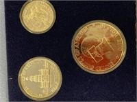 3 Piece US Bicentennial silver proof set