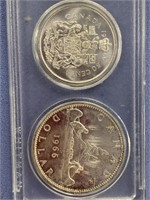 1966 Canadian Mint set, penny is missing