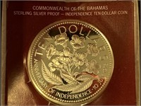 Franklin mint $10 coin from Commonwealth of the