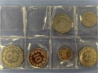 Lot of 6 coins from Malta, around mid 80s