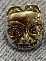 Sterling silver lady's ring depicting Tlingit