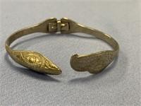 Hinged Tlingit wedding bracelet