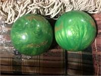 LOT OF 2 NEW BOWLING BALLS