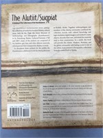 """Hard back book """"The Alutiit-Sugpiat"""", released by"""
