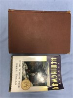 Lot of 2 books, 1890 edition report of the birds o
