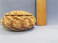 Lidded basket made from Georgia longleaf pine need