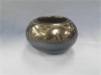 """Piece of beautiful pueblo pottery about 5"""" diamete"""