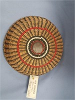 Quiet Wolf basket, made from Loblolly pine needles