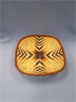 Lovely woven basket made from cedar root and pine