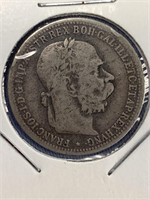 1894 Austrian silver corona          (33)