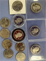 Bag lot of misc. US quarters, some are proof