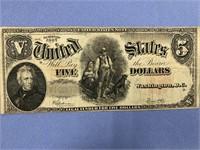 Series 1907 $5 note          (M 316)