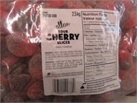 (4) Allan 2.5KG Sour Cherry Slices