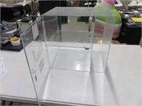 Plexiglass 2-Tier Display Box