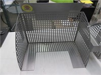 (2) Decorative Metal POS Privacy Surrounds