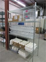 (3) Assorted Size Focus Chrome Racking