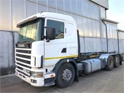 SCANIA R124  used