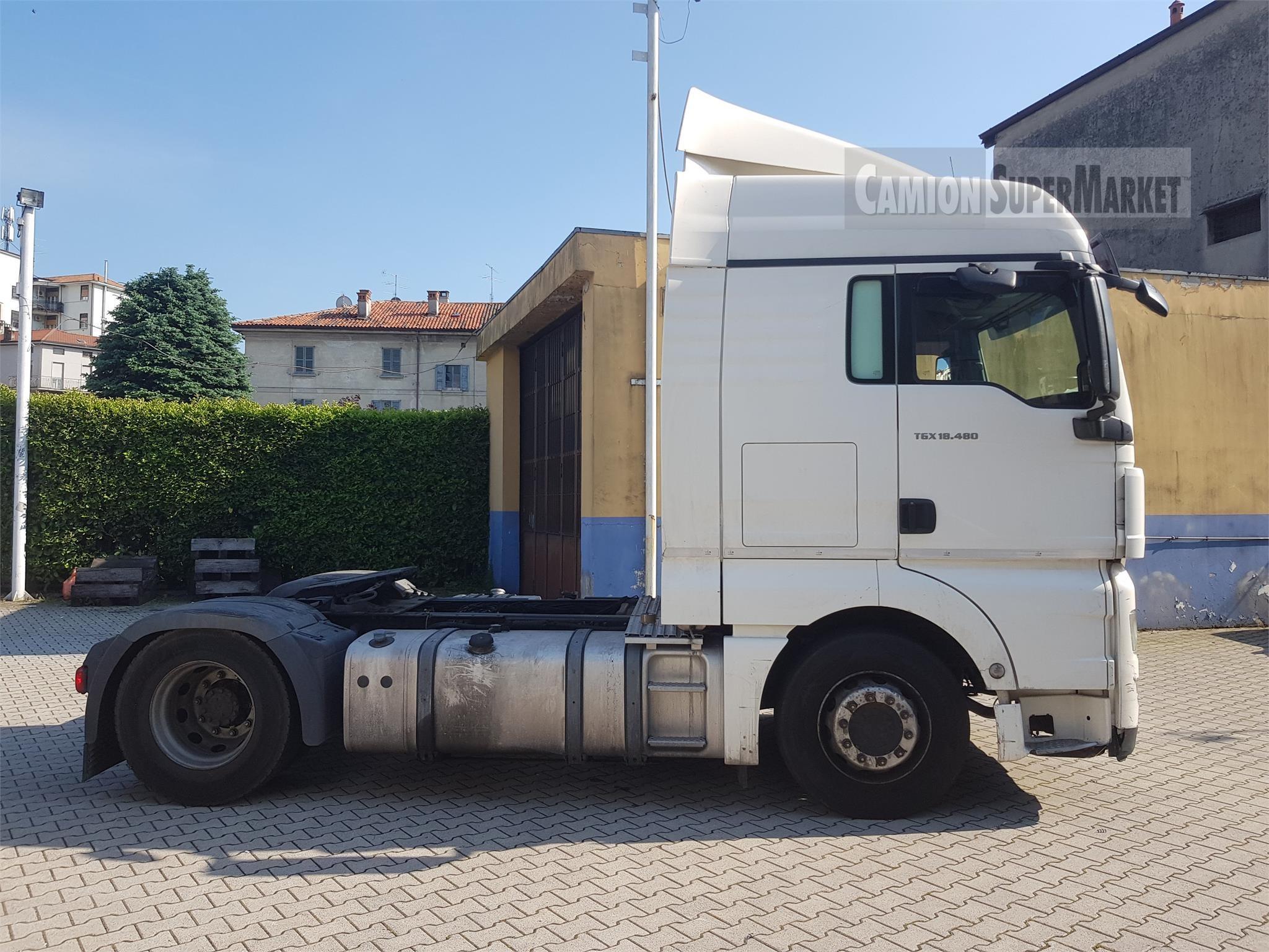 MAN TGX18.480 Usato 2011 Lombardia