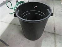 Rubbermaid Black Garbage Can