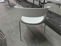 (23) White Plasti Tub Chairs