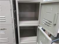 (2) Banks of 6-Mini Lockers