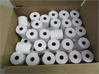 Box of Slip Printer Receipt Rolls