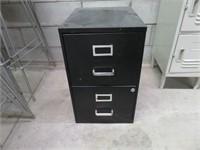 Black 2-Dr. Filing Cabinet
