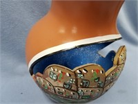 Piece of pueblo pottery, beautiful hand painted