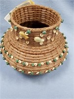 Lot of 2 baskets, 1 is by Two Rivers made from