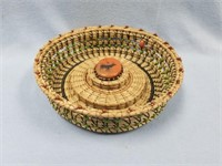Native American and Native Alaskan artifacts with art work O