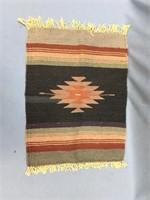 """Lovely woolen place mat 18.5"""" long"""