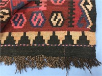 Old Phenomenal Native American rug with