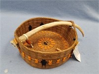 The Strong People basket, made from Georgia long
