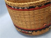 Chief White Cloud basket, made from Georgia long