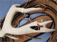 Spirit of the Warrior basket, made from Georgia