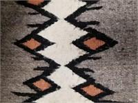 "Hand woven Horse blanket 53"" long              (P"