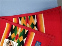 "Small Pendleton woolen blanket, 35"" x 44.5"" long"