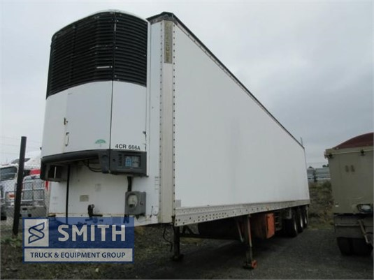 1993 Maxi Cube Refrigerated Trailer Smith Truck & Equipment Group - Trailers for Sale