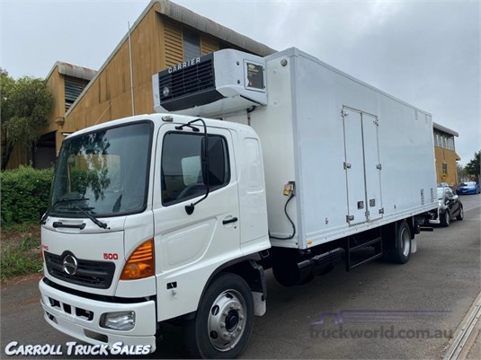 2003 Hino GD1J Carroll Truck Sales Queensland - Trucks for Sale