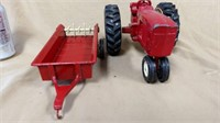 Scale Models Tractor & Ertl Trailer