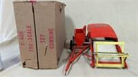 Tru-Scale C-406 Combine w/box (*)