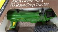 1;16 Ertl Blueprint '53 J Deere 70 Row Crop #5611